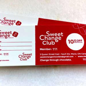 Sweet Change Club Card